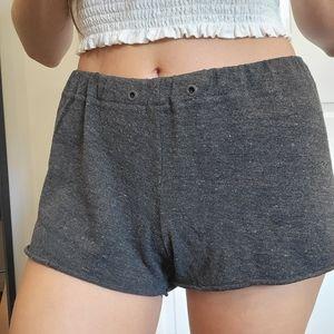 Aritzia community lounge shorts